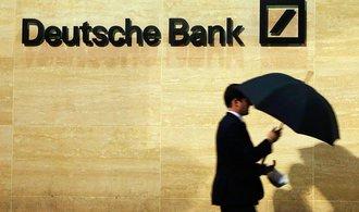 WSJ: Washington sv�mi kroky kolem Deutsche Bank ohro�uje evropskou ekonomiku