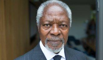 Zemřel Kofi Annan, bývalý tajemník OSN a nositel Nobelovy ceny za mír