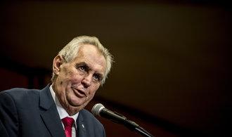 Stropnickému v odchodu z ministerstva bránit nebudu, řekl prezident
