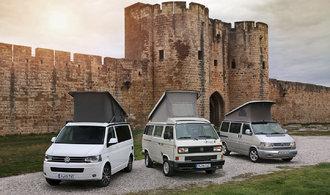 OBRAZEM: Obytný Volkswagen California slaví třicetiny. Podívejte se, jakými změnami prošel