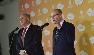 ČSSD chce Babišův návrh rozpočtu upravit, chybí v něm miliardy