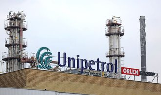 Unipetrolu v pololetí klesl čistý zisk o polovinu na 3,2 miliardy korun