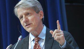 Varování z Davosu. Riziko značného propadu trhů trvá, tvrdí nobelista Shiller