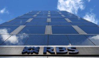Royal Bank of Scotland zaplatí rekordní pokutu kvůli hypotečním cenným papírům
