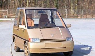Mercedes-Benz NAFA: Koncept malého auta z osmdesátých let, s komfortem třídy S