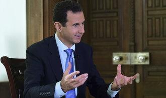 Asad chce letecké spojení na Krym. Jednal o něm s tamní delegací