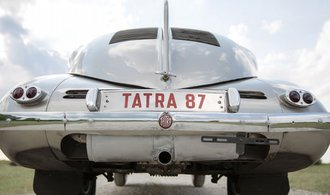 Designový skvost Tatra 87 slaví osmdesát let