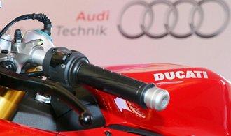 Volkswagen zvažuje prodej výrobce motorek Ducati