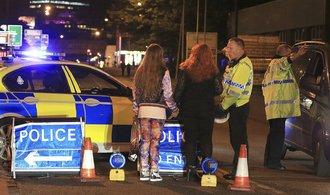 Policie v Manchesteru zasahuje v jedné z ulic