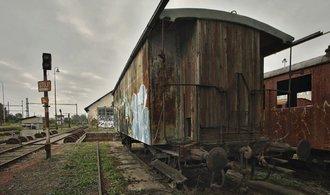 Hřbitov vlaků na brněnském dolním nádraží. Prohlédněte si rozsáhlou fotogalerii
