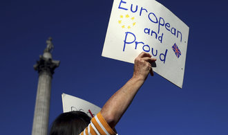 V Londýně se sešlo 670 tisíc Britů, demonstrovali za referendum o brexitu
