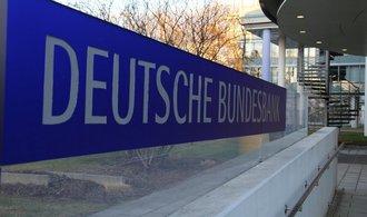 Zisk Bundesbanky klesl, důvodem je nákup dluhopisů