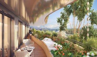 Bydlení budoucnosti kombinuje luxus a zeleň. Podívejte se na návrh bytového komplexu ve Francii