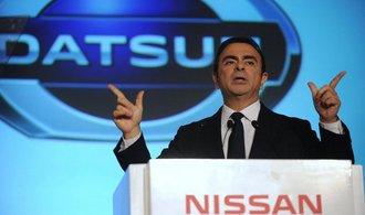 Konec velké postavy autoprůmyslu? Nissan chce kvůli podvodům odvolat šéfa správní rady Ghosna