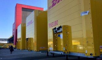 DHL otevírá v Bruselu obří sklad za miliardy