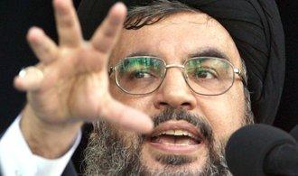 V Sýrii budeme tak dlouho, dokud bude potřeba, řekl vůdce Hizballáhu