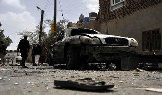 P��m��� vypr�elo. Sa�dsk� Ar�bie bombardovala okol� jemensk� metropole San�