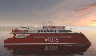 Světové oceány má od plastů spasit loď, která je přemění na palivo