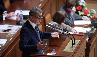 Sněmovnu rozděluje insolvenční zákon