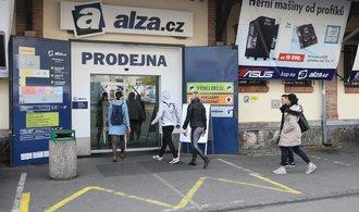 Technické problémy v Alze přetrvávají. E-shop funguje stále v omezeném režimu