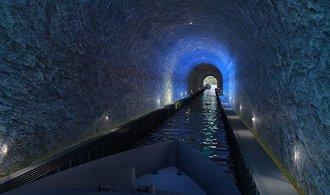 VIDEO: Norsko plánuje unikátní tunel pro osobní i nákladní lodě