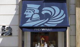 Luxusní prádlo La Perla vystřídá v centru Prahy šperkař Frey Wille