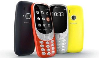 Nokia 3310 půjde znovu na trh. S Hadem a 22hodinovou výdrží při telefonování