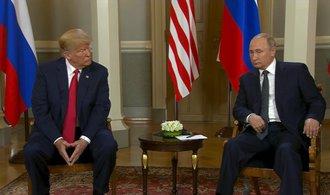 """""""Putin má Trumpa v hrsti."""" Američtí politici kritizují schůzku prezidentů"""