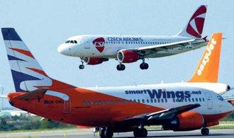 Travel Servisu a Českým aeroliniím skokově přibyli cestující