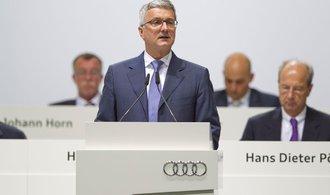 Německé úřady zadržely šéfa Audi kvůli emisní aféře