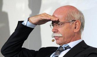 Šéf automobilky Daimler Zetsche příští rok skončí, nahradí ho nynější ředitel výzkumu