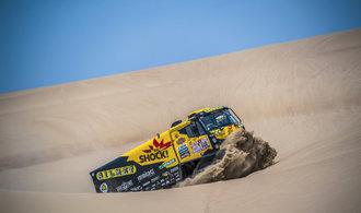 Z letošního Dakaru mám respekt, Peru je technická země, říká závodník Macík