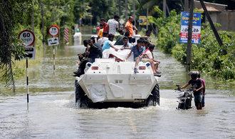 Ničivé záplavy na Srí Lance mají už 151 obětí, 111 se pohřešuje