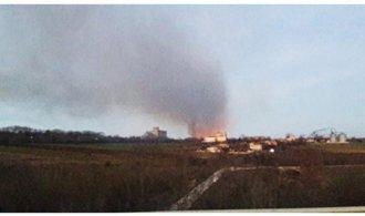 V Bulharsku explodoval nákladní vlak, nejméně čtyři lidé zemřeli