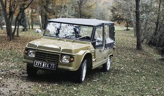 OBRAZEM: Slavný Citroën Méhari slaví padesátiny. Zahrál si i ve slavných filmových komediích