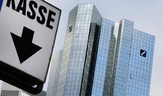 USA s Deutsche Bank se bl�� urovn�n� sporu, jednaj� o pokut� 5,4 miliardy dolar�