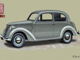 Fiat 1100 (1937�1953): Millecento, n�stupce Balilly