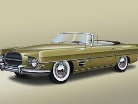 Dual-Ghia (1956-58): Auto t�� prezident�