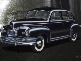 Nash 600 (1941–1949): 600 mil na jednu nádrž