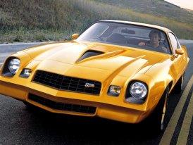 Chevrolet Camaro (1970–1981): Druhá generace