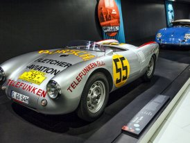 Porsche 550 Spyder (1953–1957):