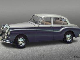 Daimler Regency (1951–1958): Na královský příkaz