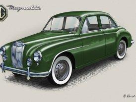 MG Magnette (1953�1968): Ve dvou podob�ch