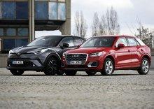 Toyota C-HR 1.2T vs Audi Q2 1.4 TSI: #nepostradatelní