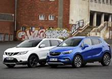Nissan Qashqai 1.6 dCi Xtronic vs. Opel Mokka X 1.6 CDTI AT6 – Kříženec, nebo SUV?