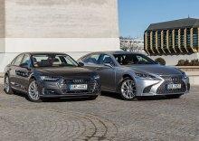 Audi A8 50 TDI quattro vs. Lexus LS 500h – Drtivé vítězství pro…