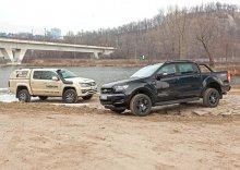 Ford Ranger 3.2 TDCi (147 kW) vs. VW Amarok 3.0 TDI V6 (150 kW) – Chlapáci sobě