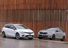 Renault Clio Grandtour 0.9 TCe vs �koda Fabia Combi 1.0 TSI � Je�t� nevym�eli