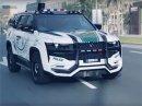Dubajská policie má další jedinečné auto. Je to prý nejpokročilejší policejní vůz planety
