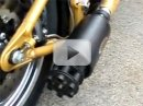 Video: rotační kulomet místo výfuku